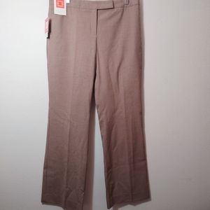 Isaac Mizrahi for Target Khaki Dress Pants 10 NEW